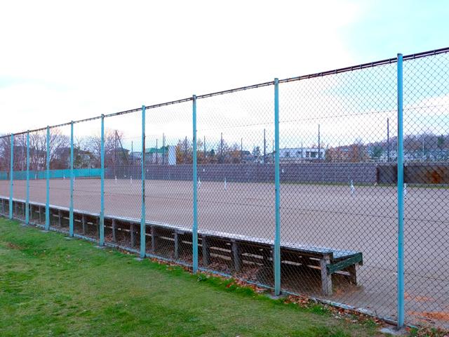 函館フットボールパーク テニスコート(旧 日吉市民庭球場)