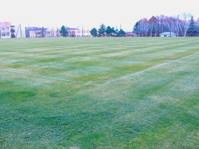 函館フットボールパーク 天然芝サッカーグラウンド(旧 日吉サッカー場)